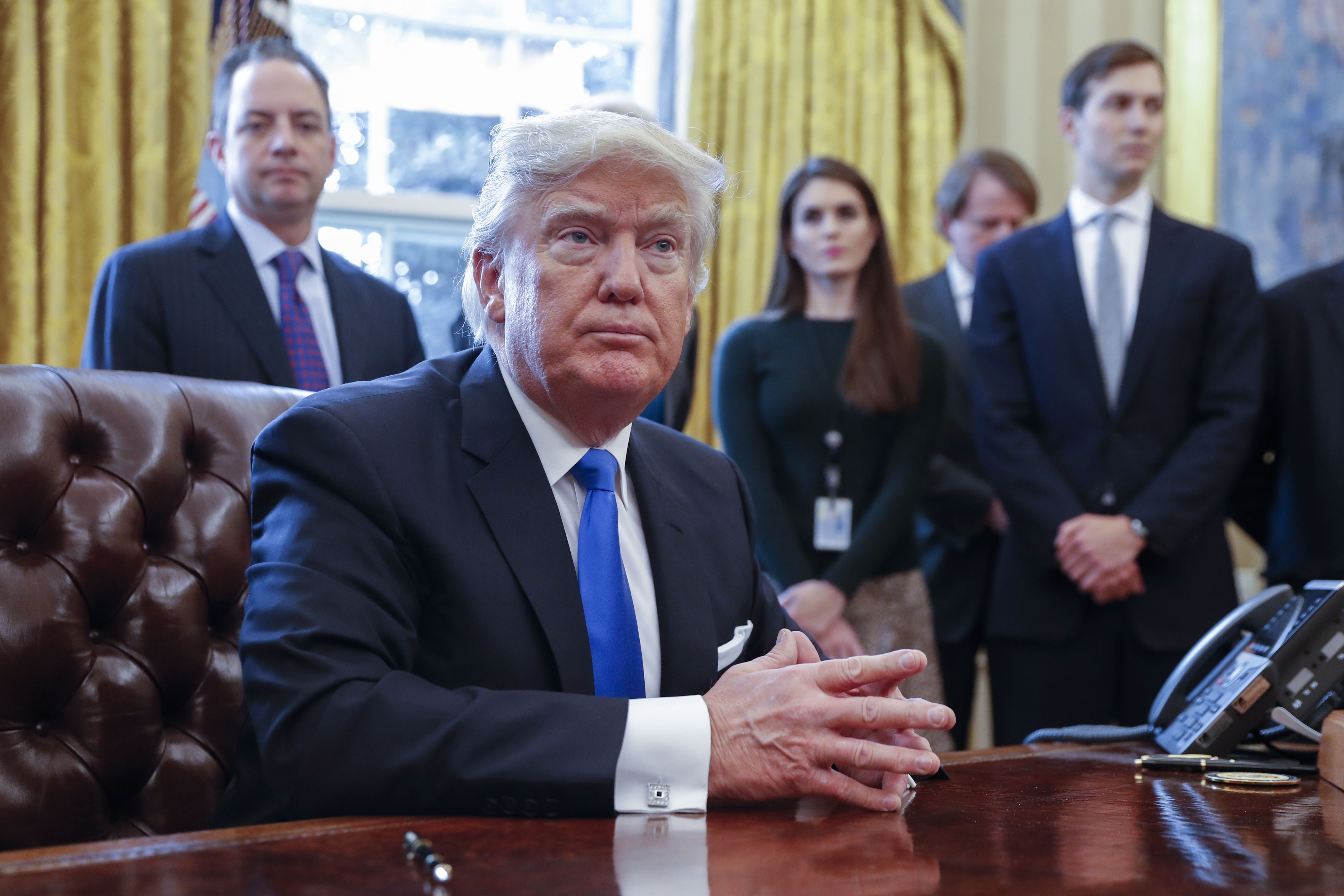 President Trump will give a broad policy speech to a joint session of Congress. (Getty Images)