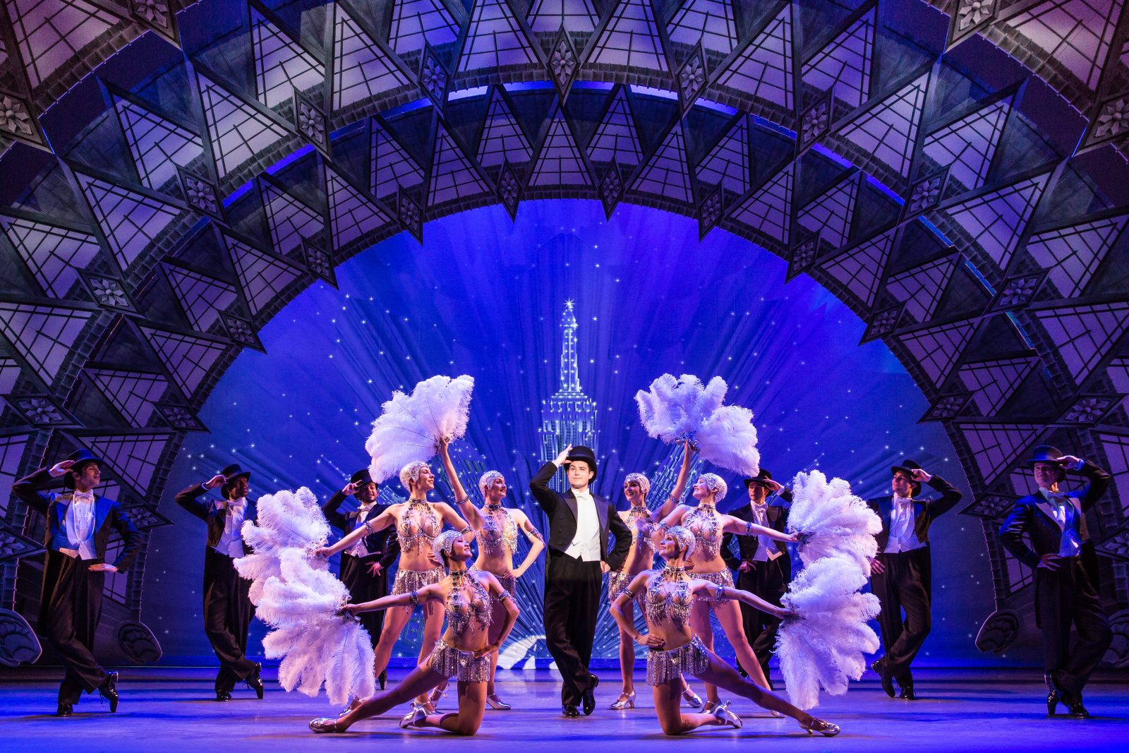 "The touring production of ""An American in Paris"" runs through Sunday in Shea's Performing Arts Center."