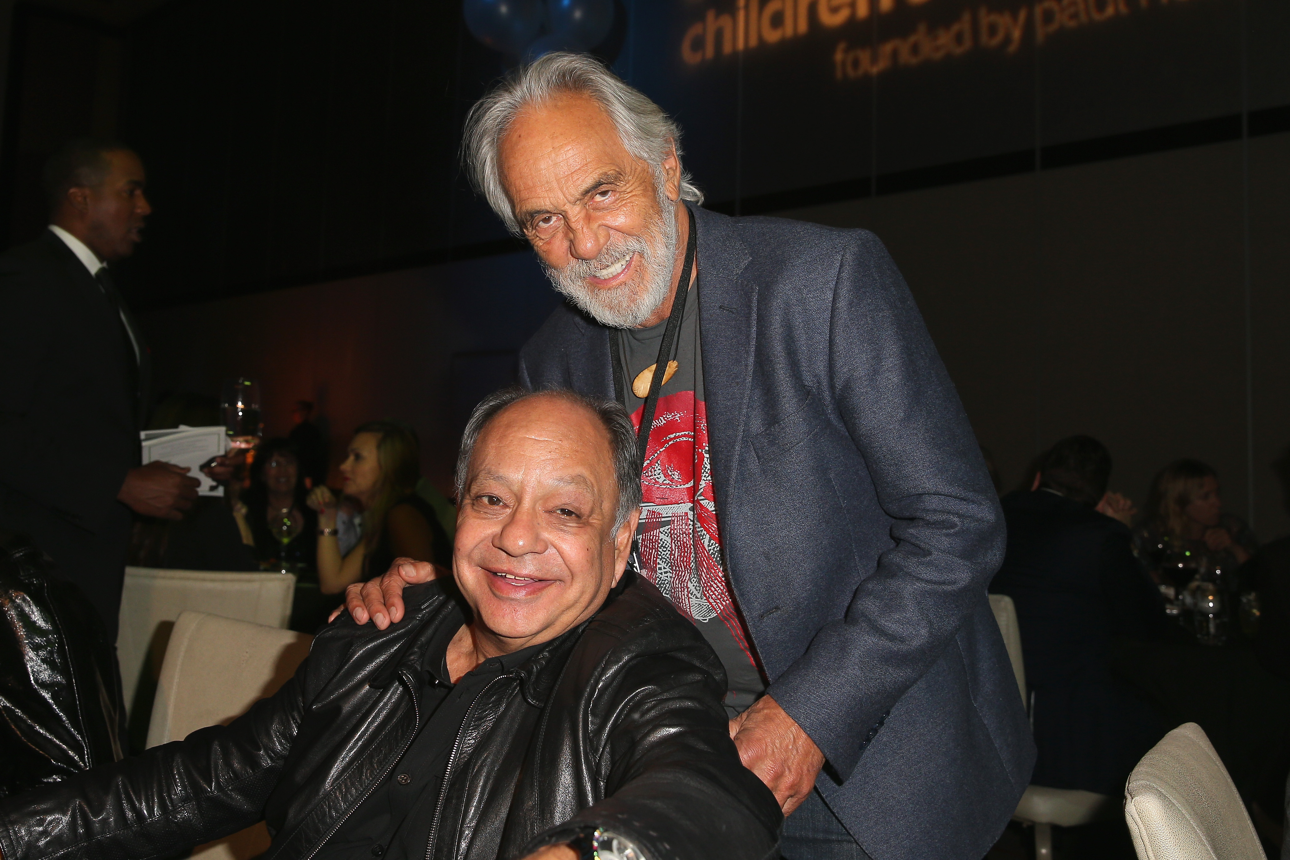 Cheech Marin, left, and Tommy Chong will perform at the Seneca Niagara Casino Events Center.  (Getty Images)