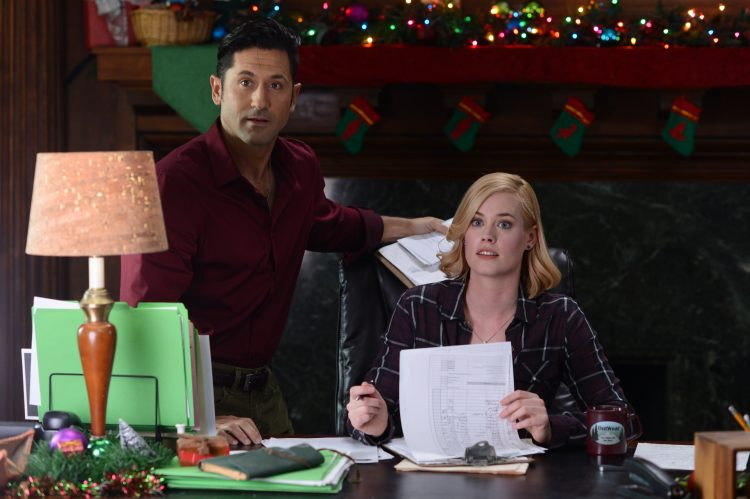 David O'Donnell and Abigail Hawk star in the Buffalo-made film 'A Christmas in Vermont' premiering on ION Television.