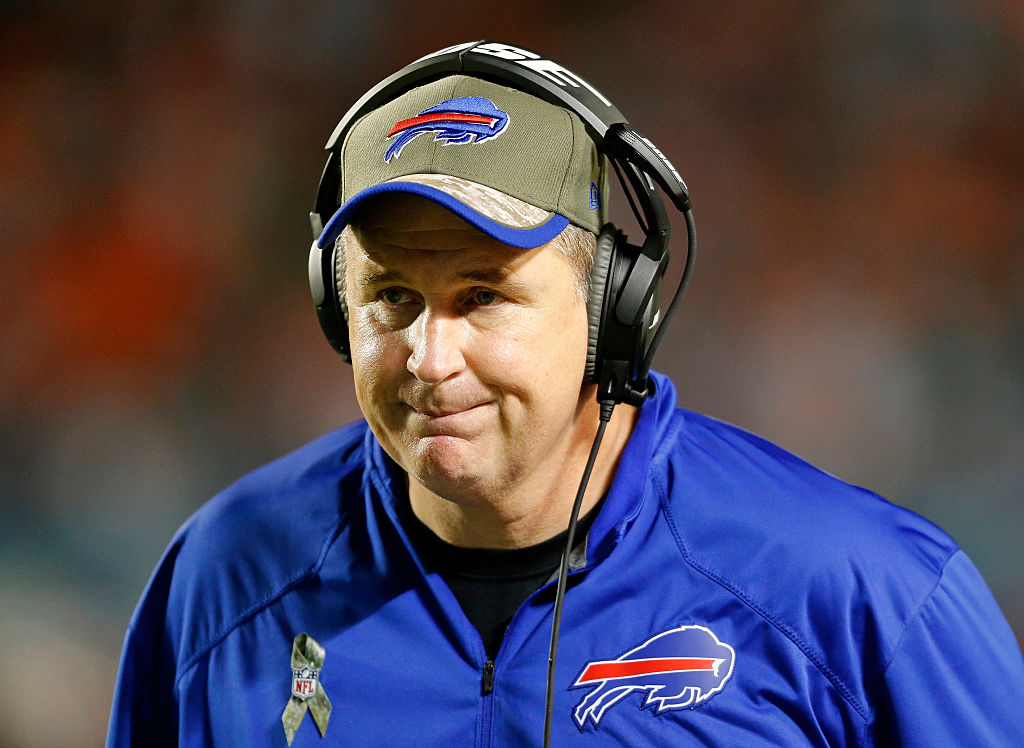 Doug Marrone punted from beyond the 50-yard line more than once a game on average. (Getty Images)