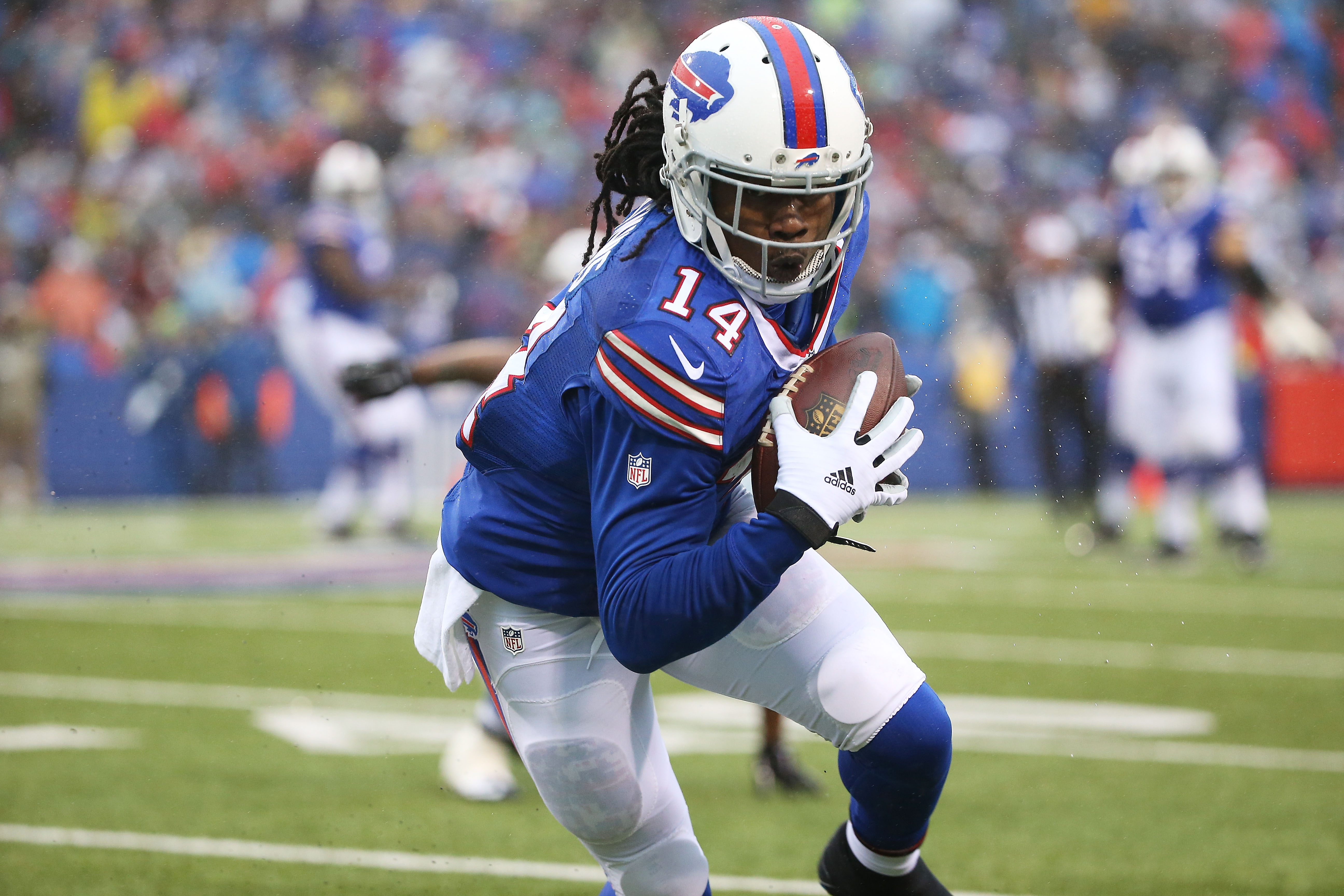 Sammy Watkins is scheduled to make his return to the Bills' lineup in Week 12. (Getty Images)