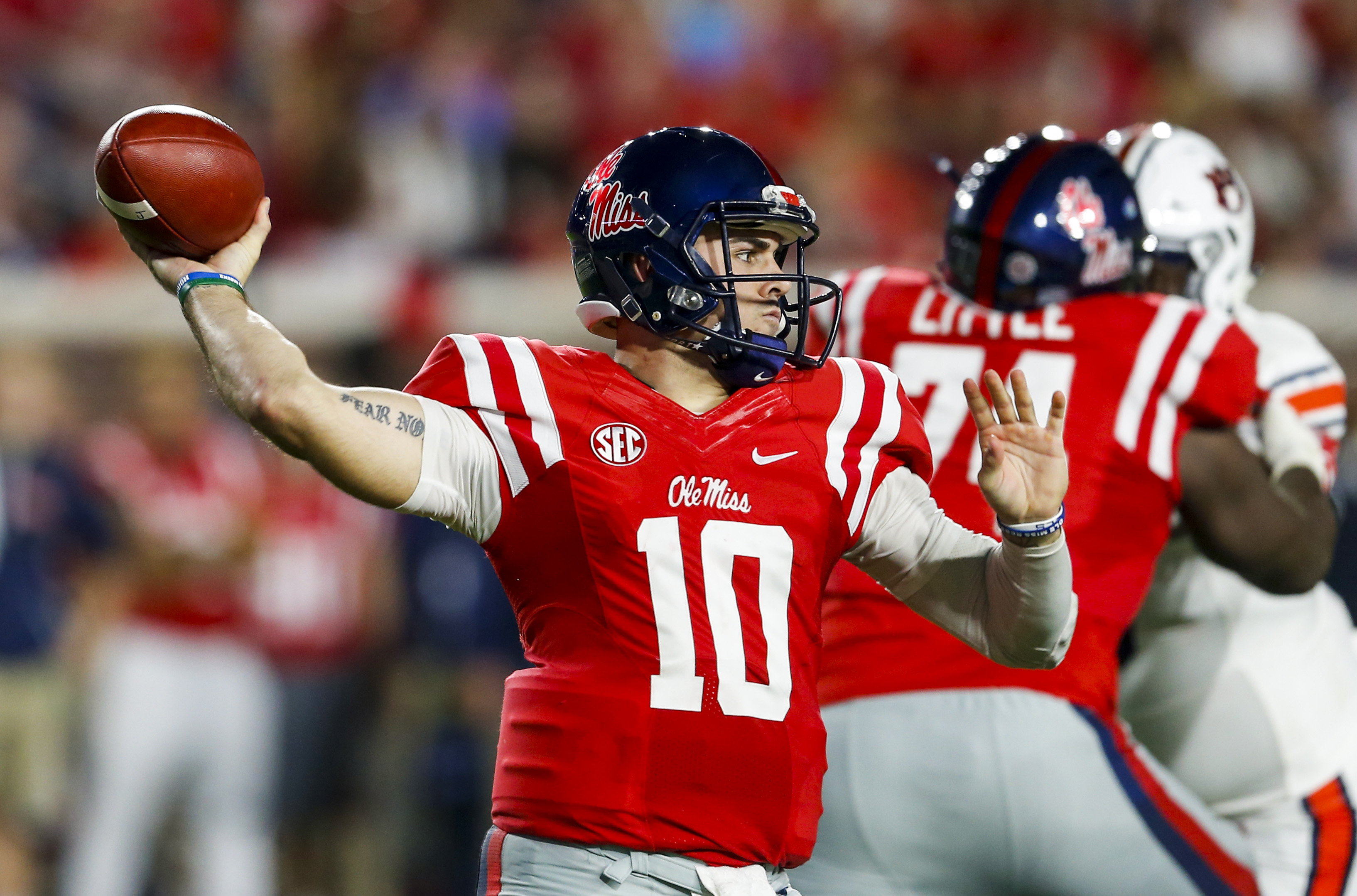 Chad Kelly recently underwent a successful surgery by Dr. James Andrews for his torn ACL. (Getty Images)