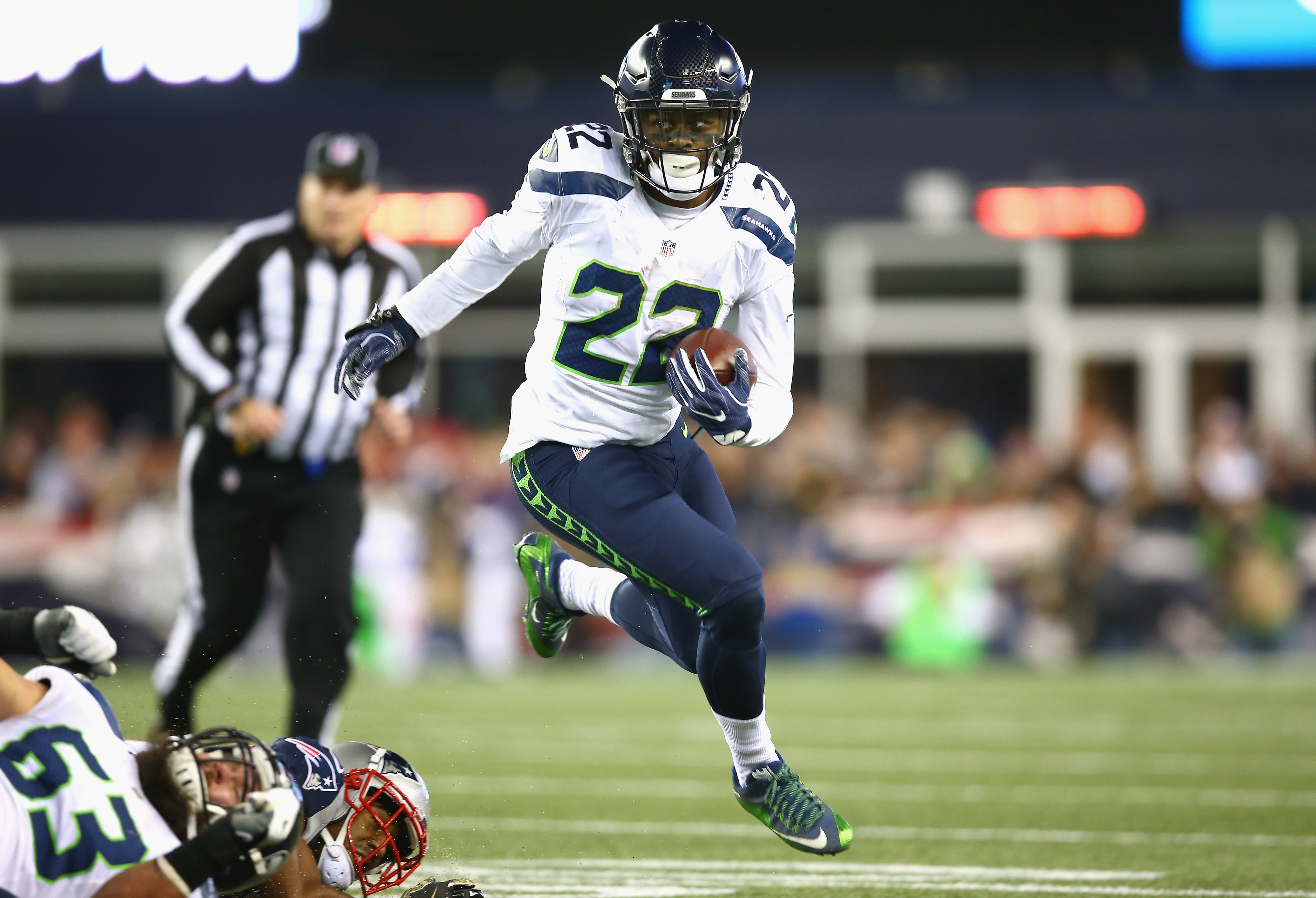 Keep an eye out for C.J. Prosise, whose role has increased for Seattle Seahawks. (Getty Images)