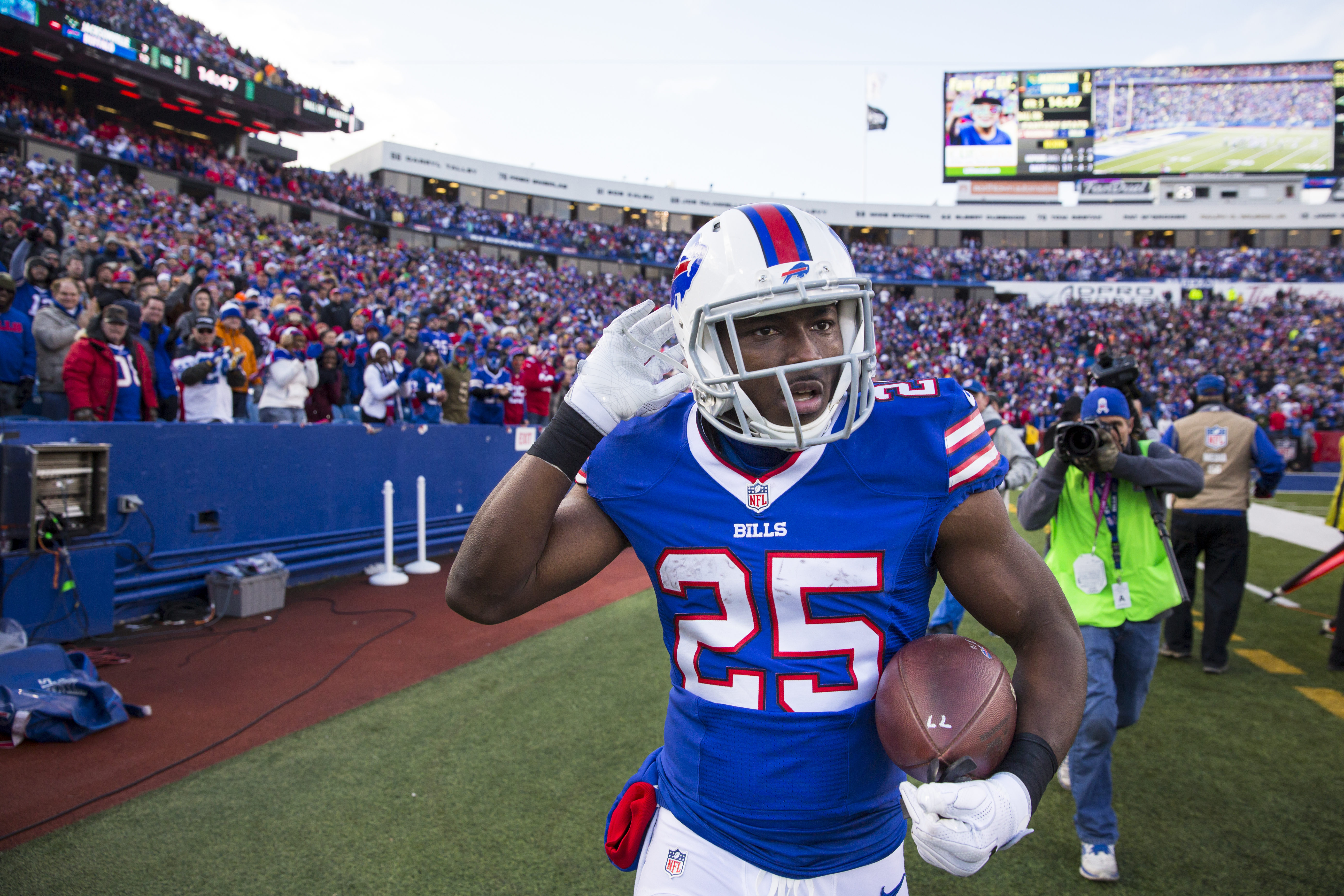 With or without LeSean McCoy, the Buffalo Bills will need to get their running game going Sunday against Jacksonville. (Getty Images)