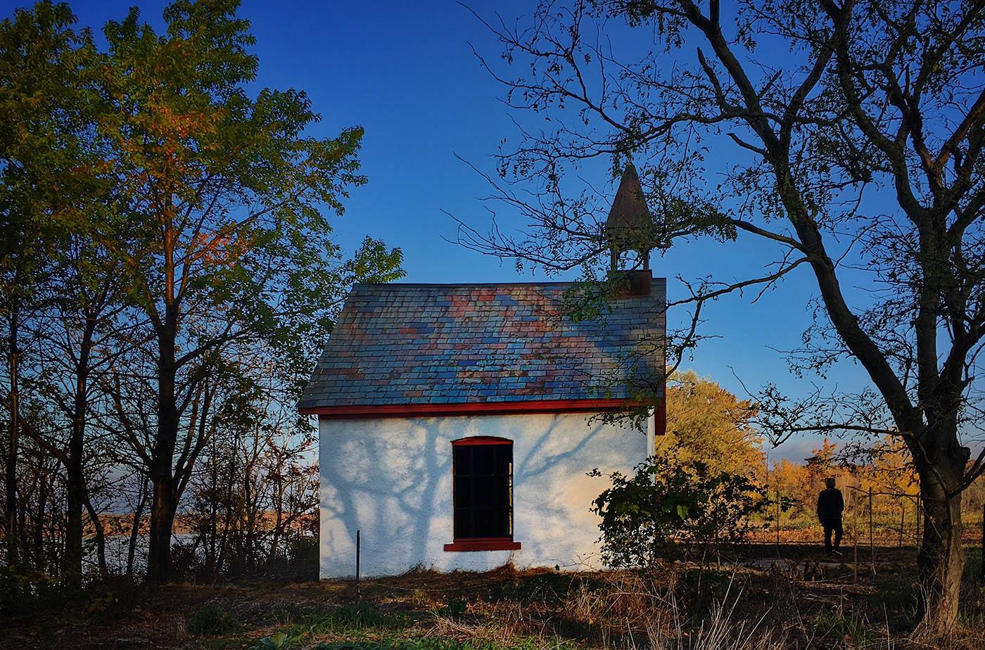 The Chapel at Stella Niagara Preserve. (Cathaleen Curtiss/Buffalo News)