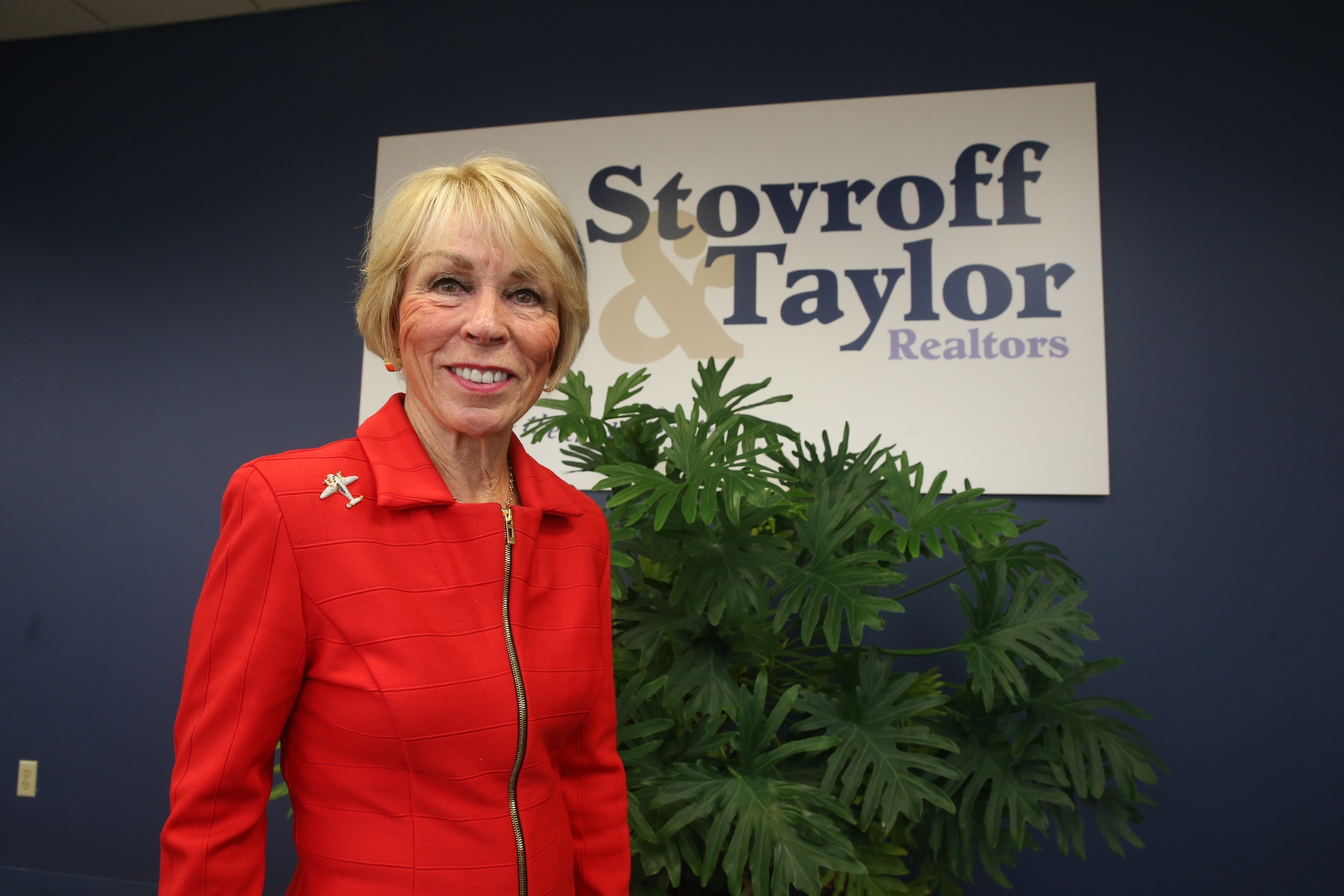 Stovroff & Taylor's Jacqueline Taylor talks about the Buffalo housing market on Wednesday Nov. 2, 2016 at the firm's Cheektowaga office. (John Hickey/Buffalo News)