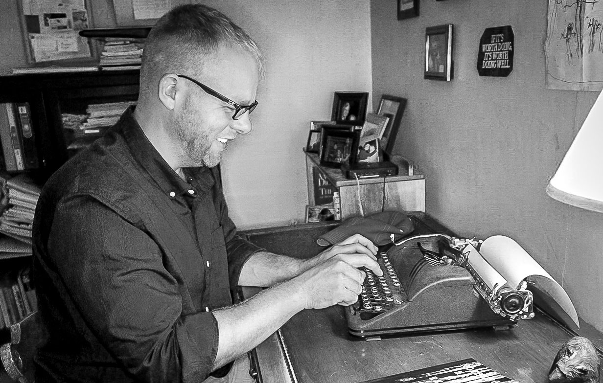 """Author Matt Bindig developed a strong sense of place, inspired by his hometown of East Aurora, in his first novel, """"Nothing Here is Real."""""""