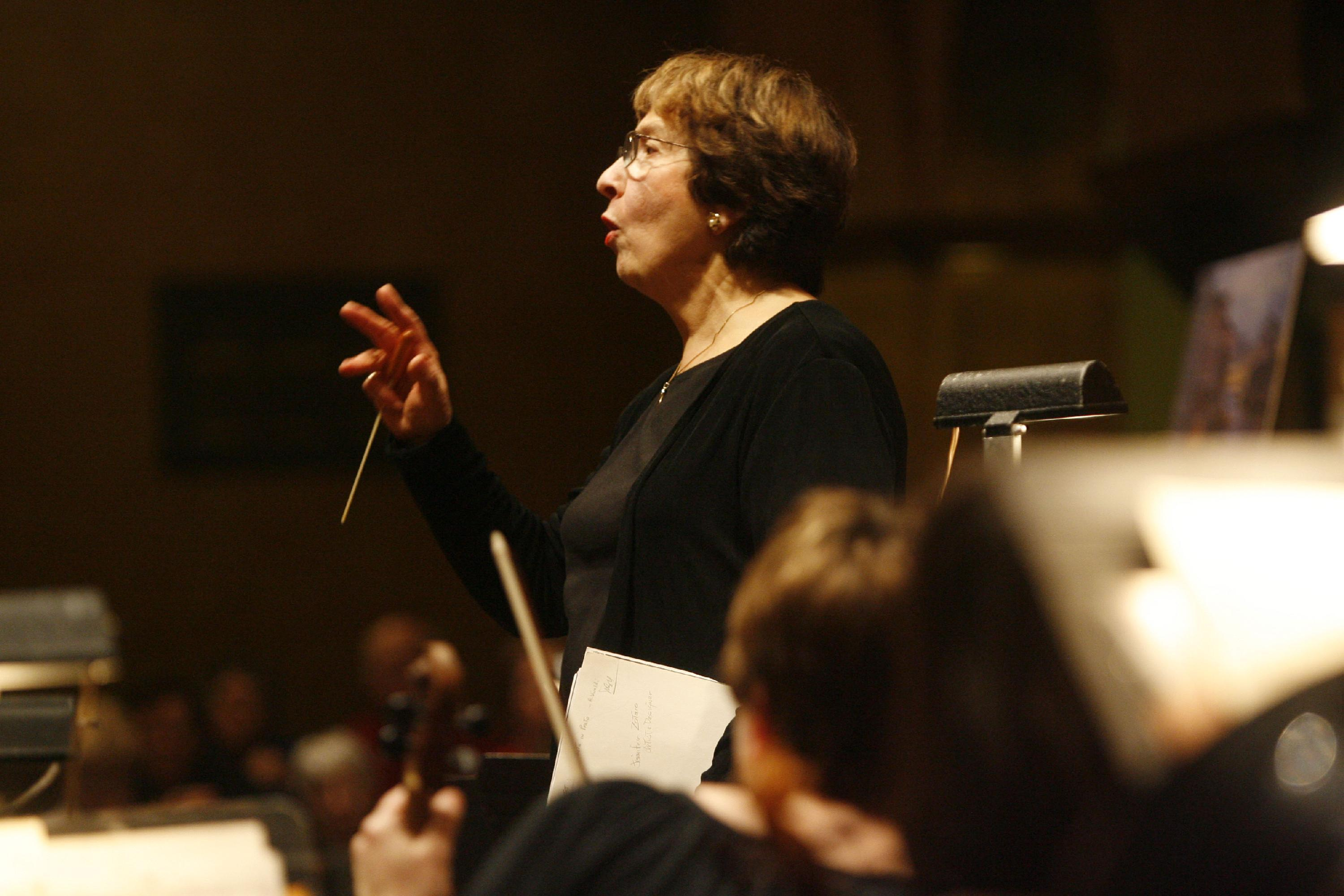 Marylouise Nanna, shown in a News file photo, leads the Ars Nova Musicians in the music of Vivaldi and also 'vicarious visionaries.'
