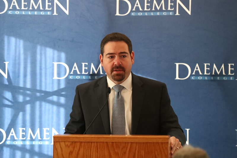 """A $1 million gift to Daemen College came from Paul A. Saffrin, the chief executive officer of a Tonawanda company with an environmental record that a federal judge once described as """"singularly inexcusable."""" The gift was made through the Paul A. Saffrin Foundation, formerly known as the Crane Family Foundation. Saffrin moved to Orchard Park only in recent years."""