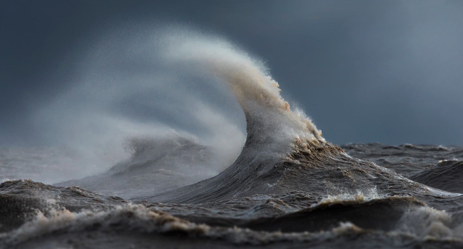 """The Witch of November:"" Lake Erie near Port Stanley, Ont., a year ago. (Photo used with permission of David Sandford)"