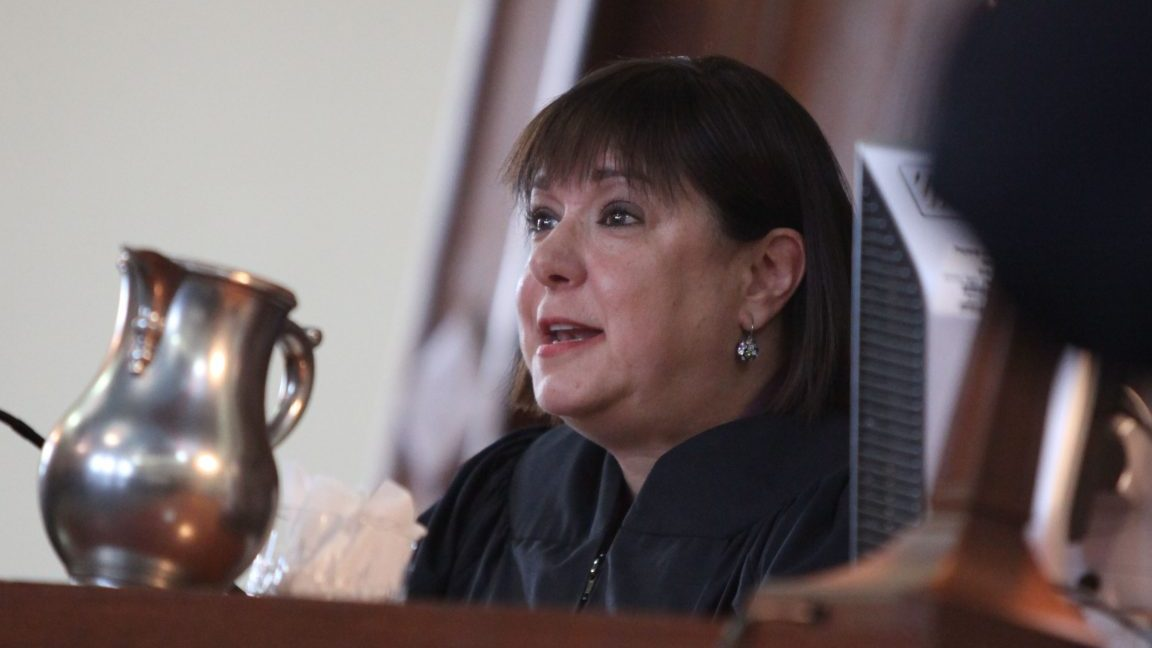 Niagara County Judge Sara Sheldon won't be allowed to hear criminal cases in 2017. (Buffalo News file photo)