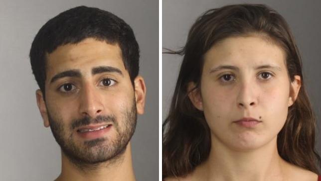 Sammy O. Abdellatif, 22, left, and Brittany Ashley-Graser, 20. (Erie County Sheriff's Office)