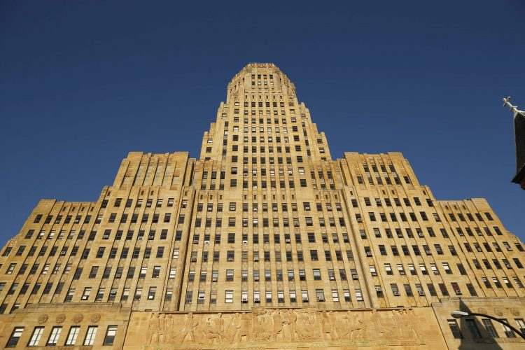 Drone crashes through 23rd floor window at Buffalo City Hall