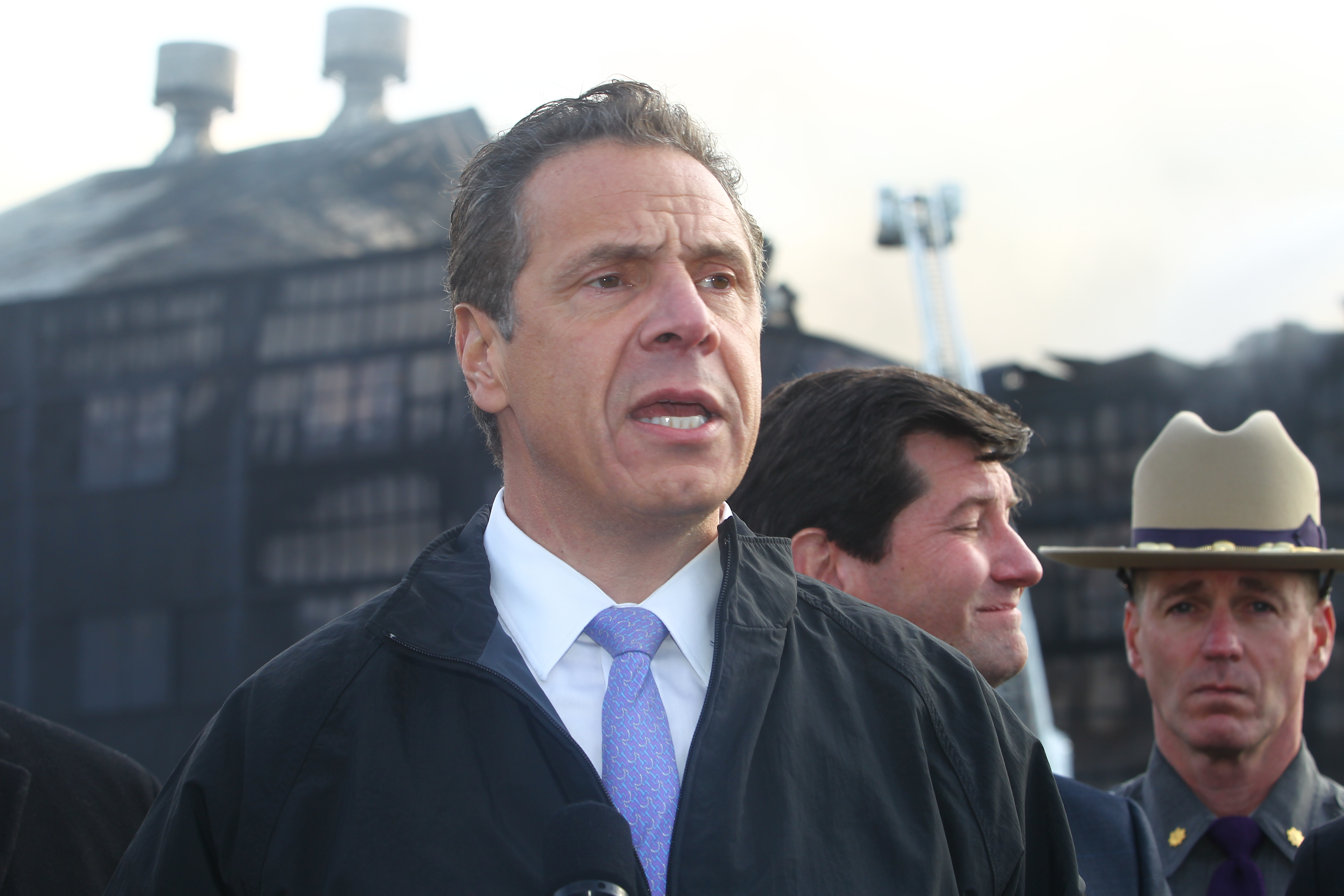 Andrew Cuomo could run for a third term as New York governor in 2018. (John Hickey/Buffalo News)