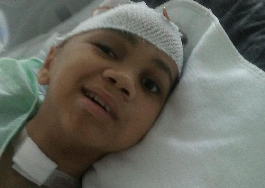 Juan Rodriguez survived a gunshot wound to his head in June. (Sonia Pagan)