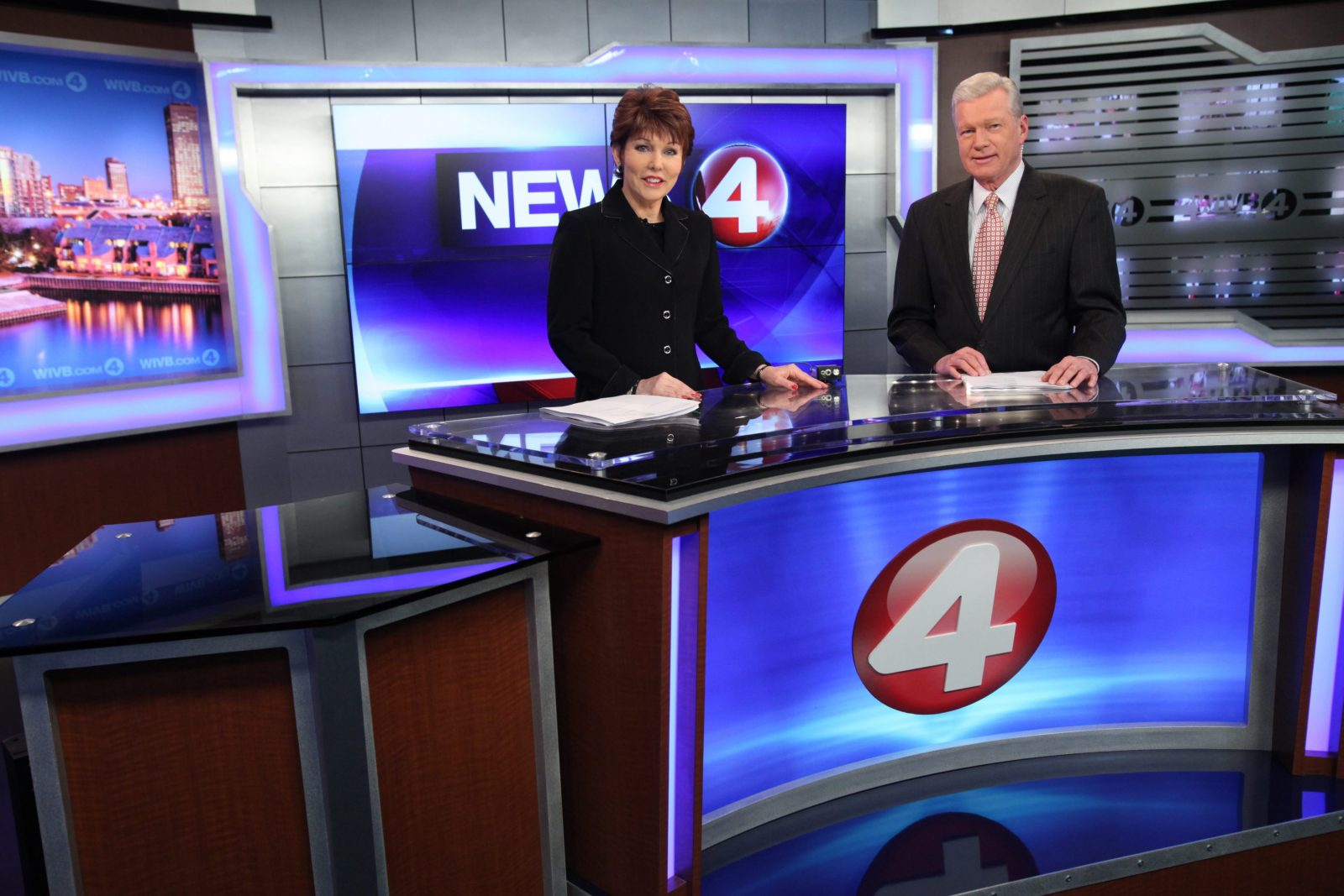In the seven key time periods, Channel 4 can proclaim victory with a total of 43.1 ratings points to 41.3 points for Channel 2. (Sharon Cantillon / Buffalo News)