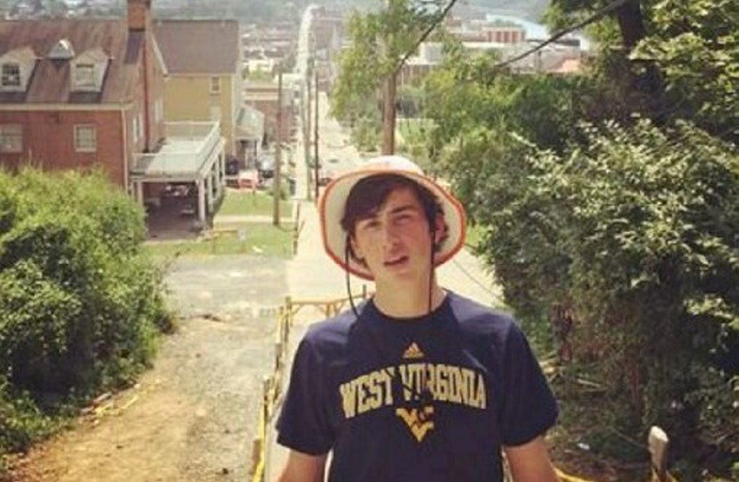Nolan Burch, an 18-year-old freshman at the University of West Virginia, had a blood-alcohol level of 0.49 percent.