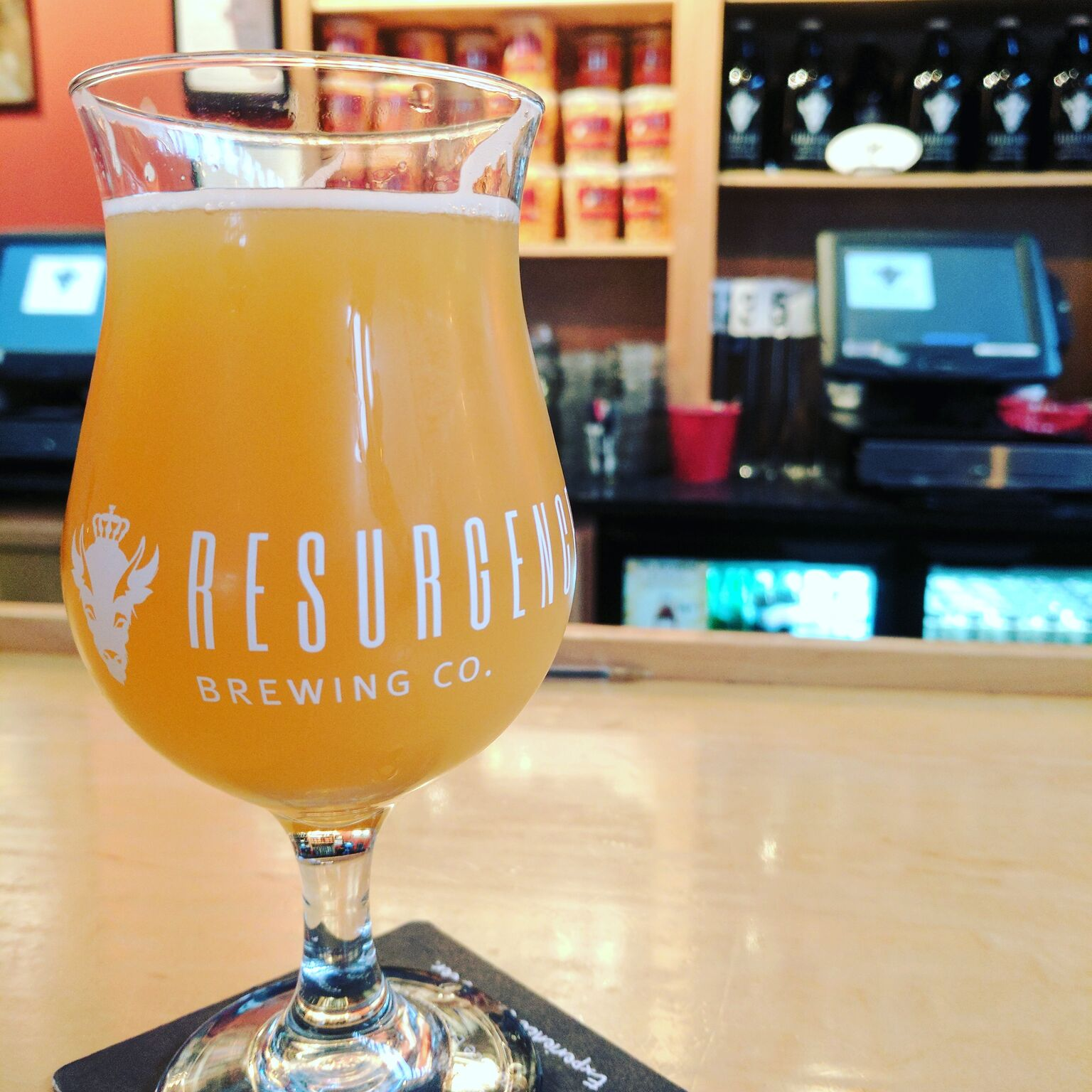 New beers available at Resurgence join the double IPA, Head in the Clouds. (Alex Placito, Special To The News)