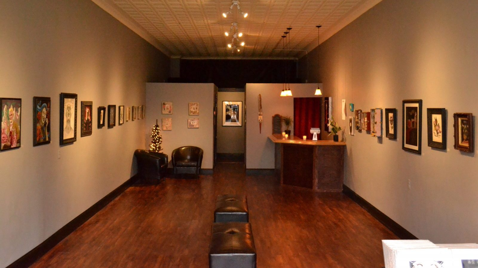 Craig and Maria Pabico LaRotonda's Revolution Gallery features pop surrealist art from around the country.