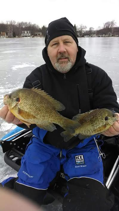Brauer is New York State's Ice Team professional and is involved with an extensive array of ice fishing education.