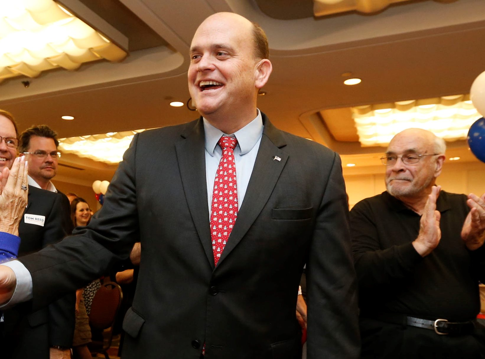 Rep. Tom Reed attended a meeting at the White House today organized by Rep. Chris Collins. (Robert Kirkham/Buffalo News)