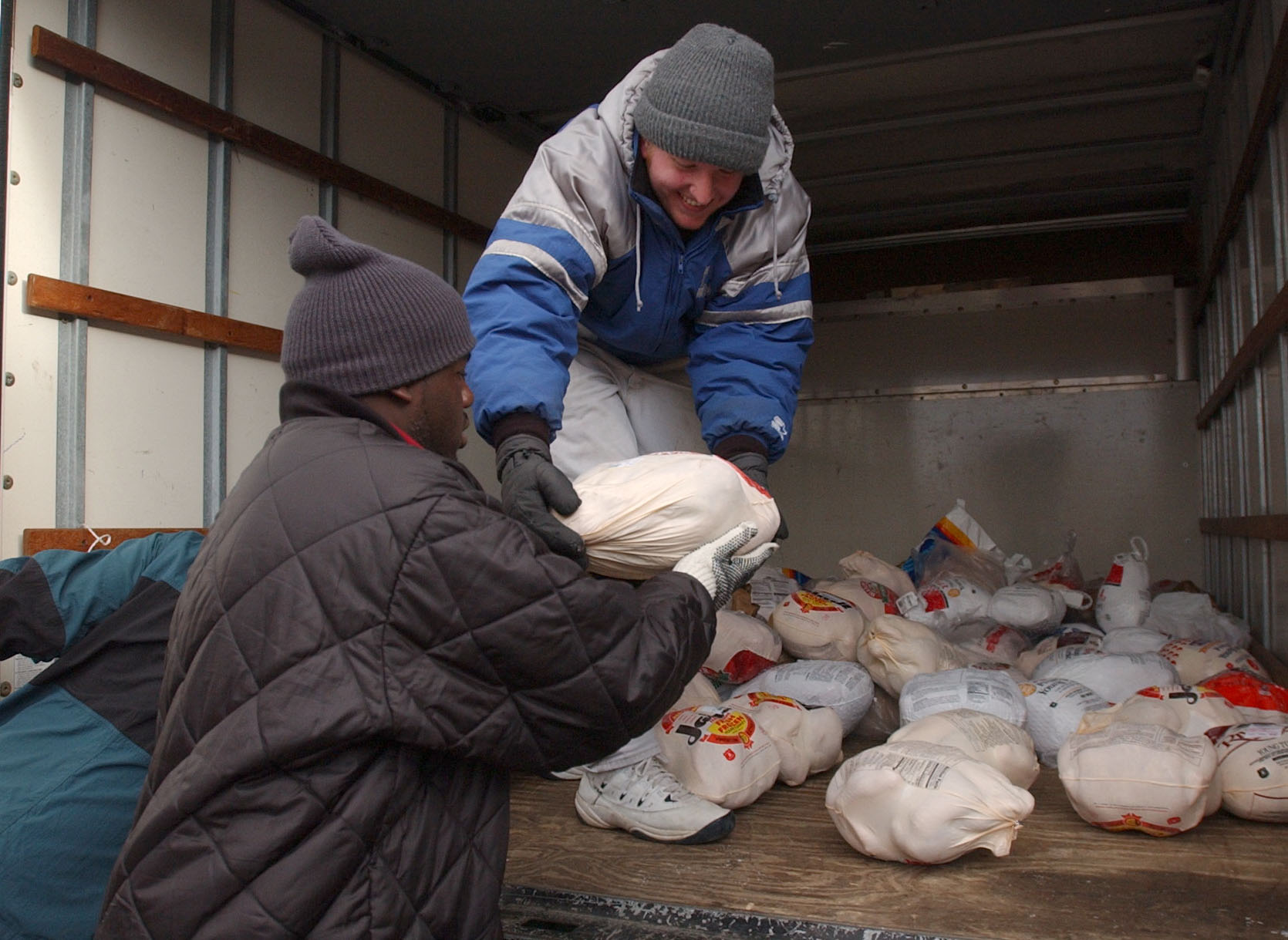 The Buffalo City Mission has kicked off its collection drive for turkeys for Thanksgiving. (Buffalo News file photo)