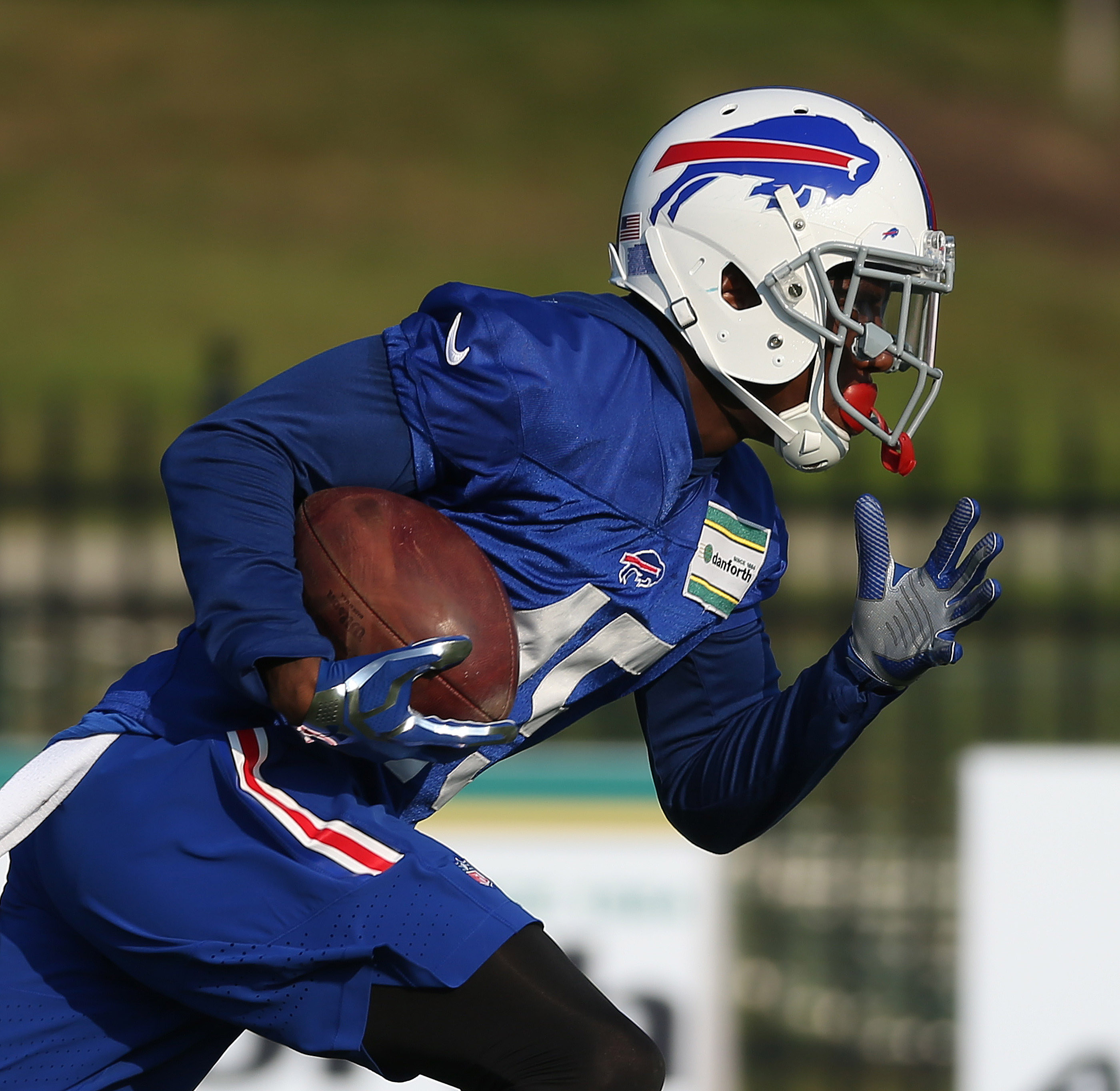 Buffalo Bills cornerback Kevon Seymour was the latest player to be traded in a series of moves made by Bills' management. (James P. McCoy/ Buffalo News)