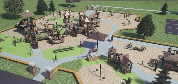 The new Hamburg playground is to be constructed next spring.