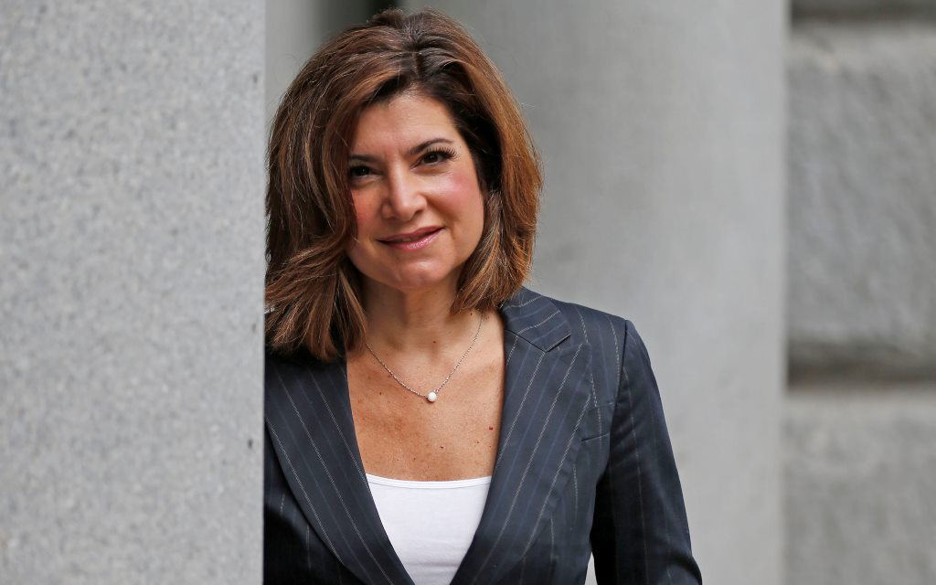 Former Channel 7 news anchor Joanna Pasceri switched her party registration from Democrat to Conservative in October, bolstering speculation she plans to run for county clerk. (Robert Kirkham/Buffalo News)