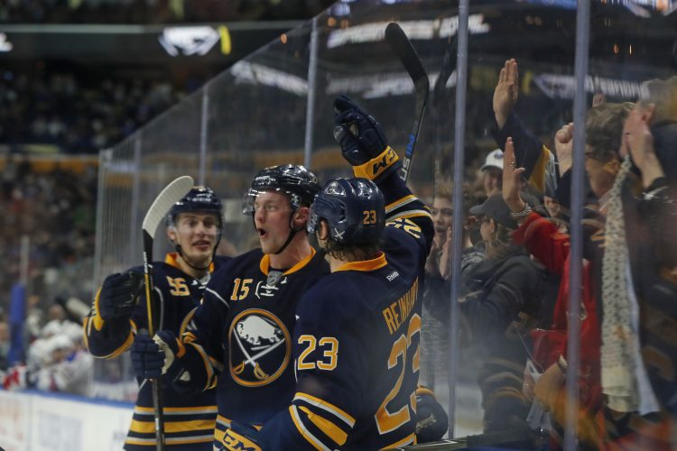 Sabres' newcomers learn Eichel is real deal
