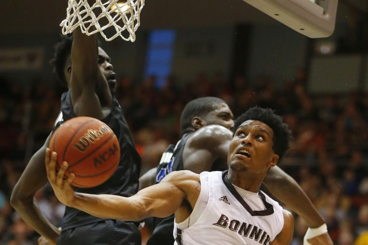 Bona slugs it out with UB, scores 90-84 victory