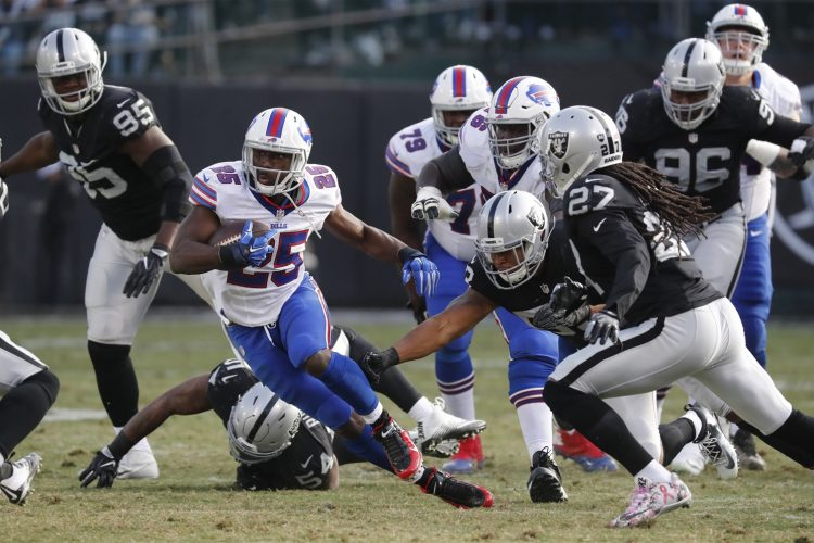 10 Plays That Shaped the Bills-Raiders game