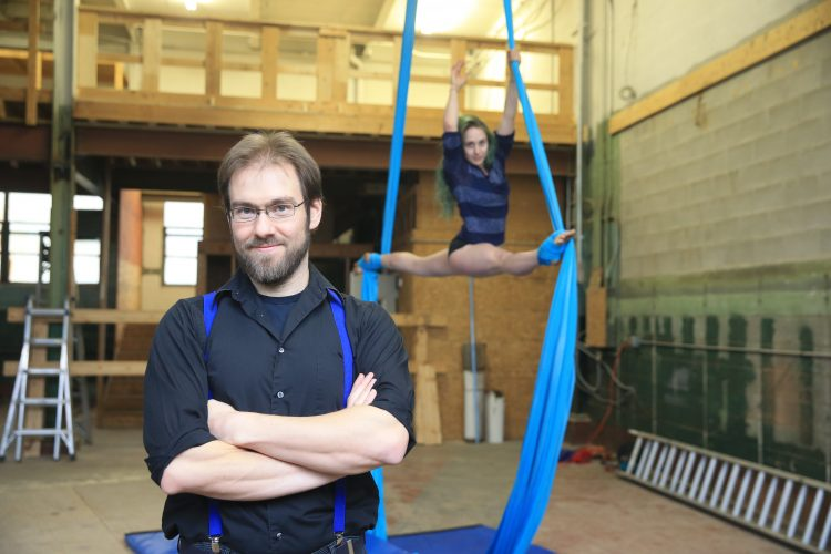 Larkinville welcomes a new home for circus arts