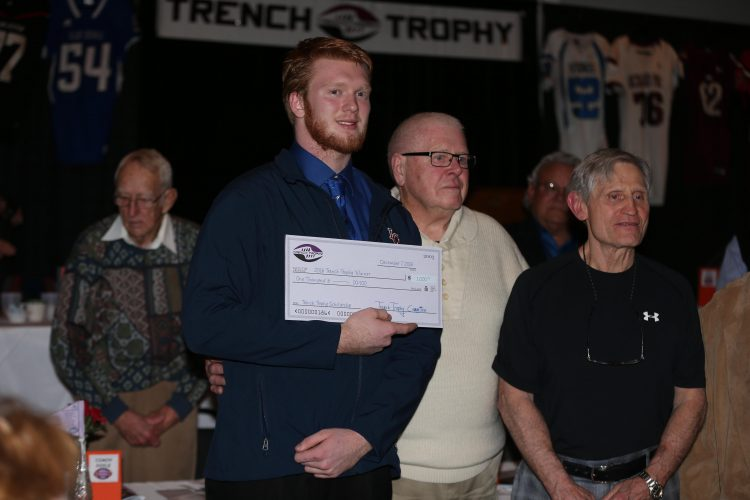 Iroquois' Nathan Emer wins Trench Trophy as WNY's top lineman