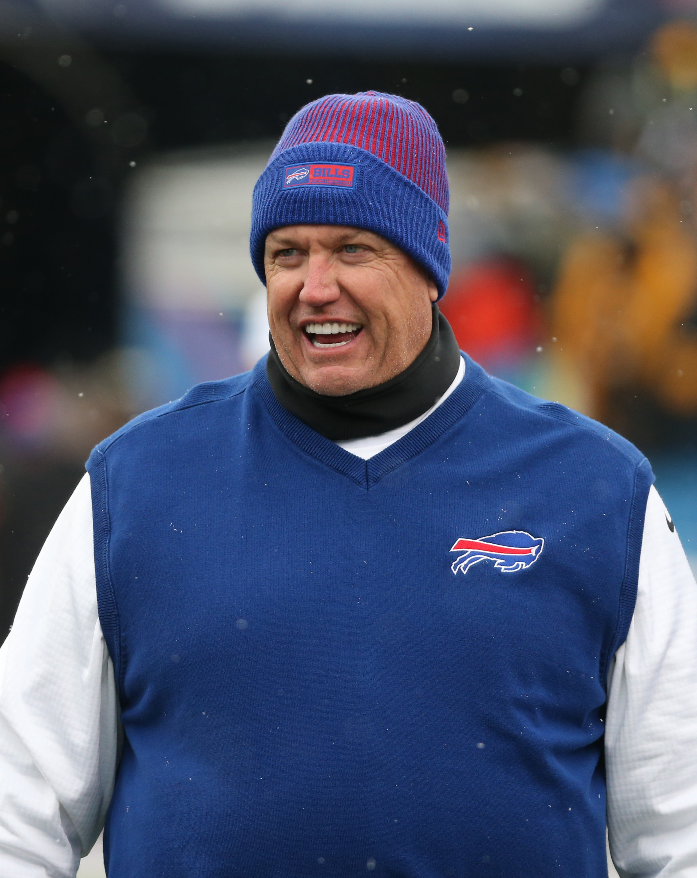 Bills coach Rex Ryan says he can't allow speculation about his job status to serve as a distraction (James P. McCoy/Buffalo News)