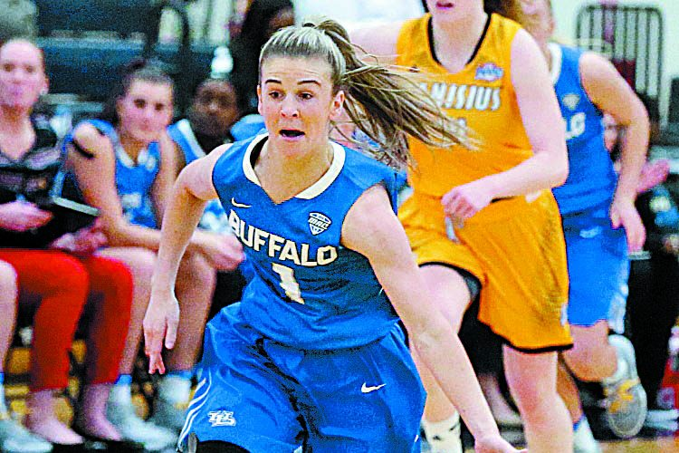 Stephanie Reid is master distributor as unbeaten UB tops Canisius