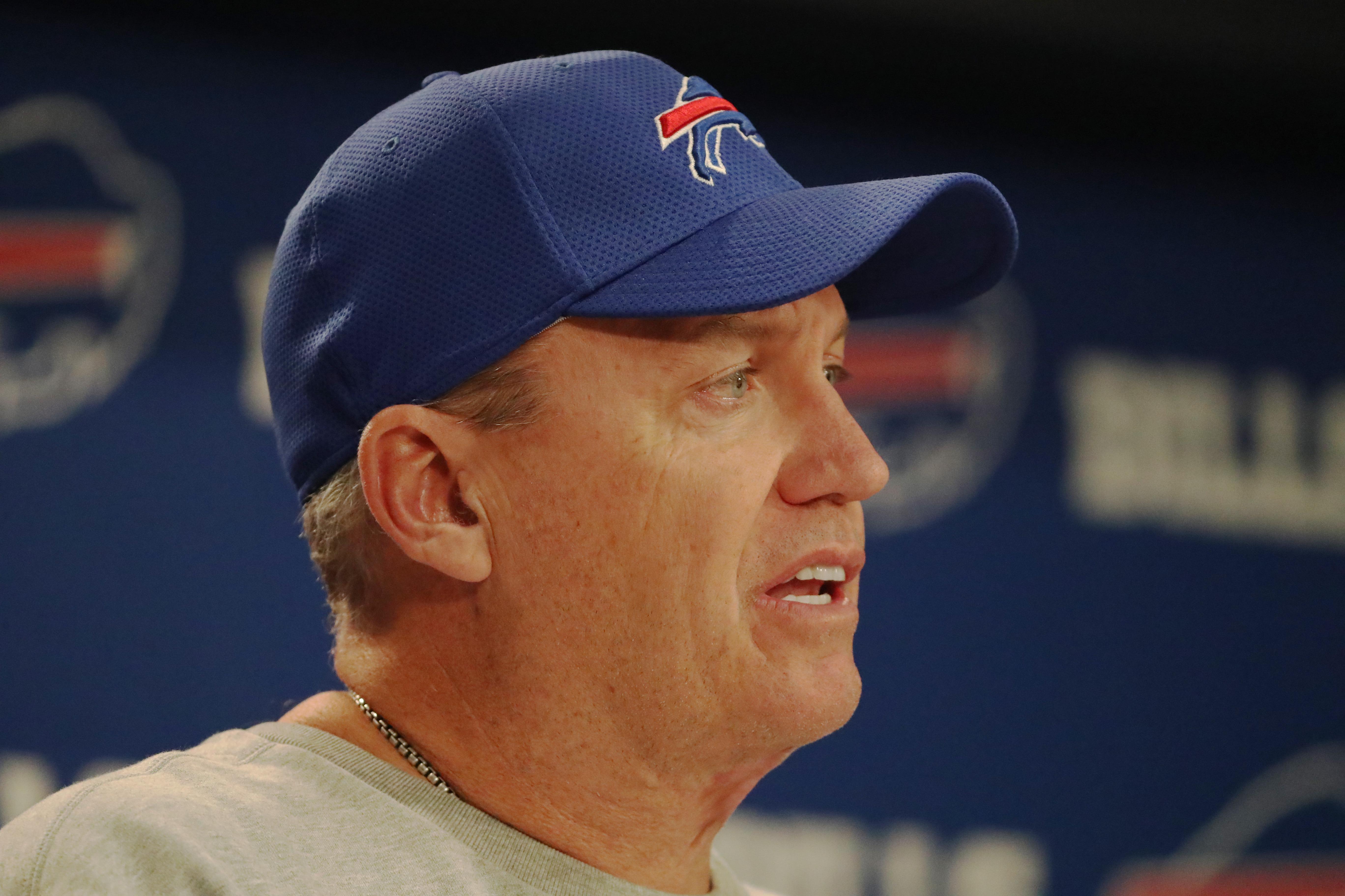 Former Buffalo Bills head coach Rex Ryan will work for ESPN at the Super Bowl. (James P. McCoy/Buffalo News)