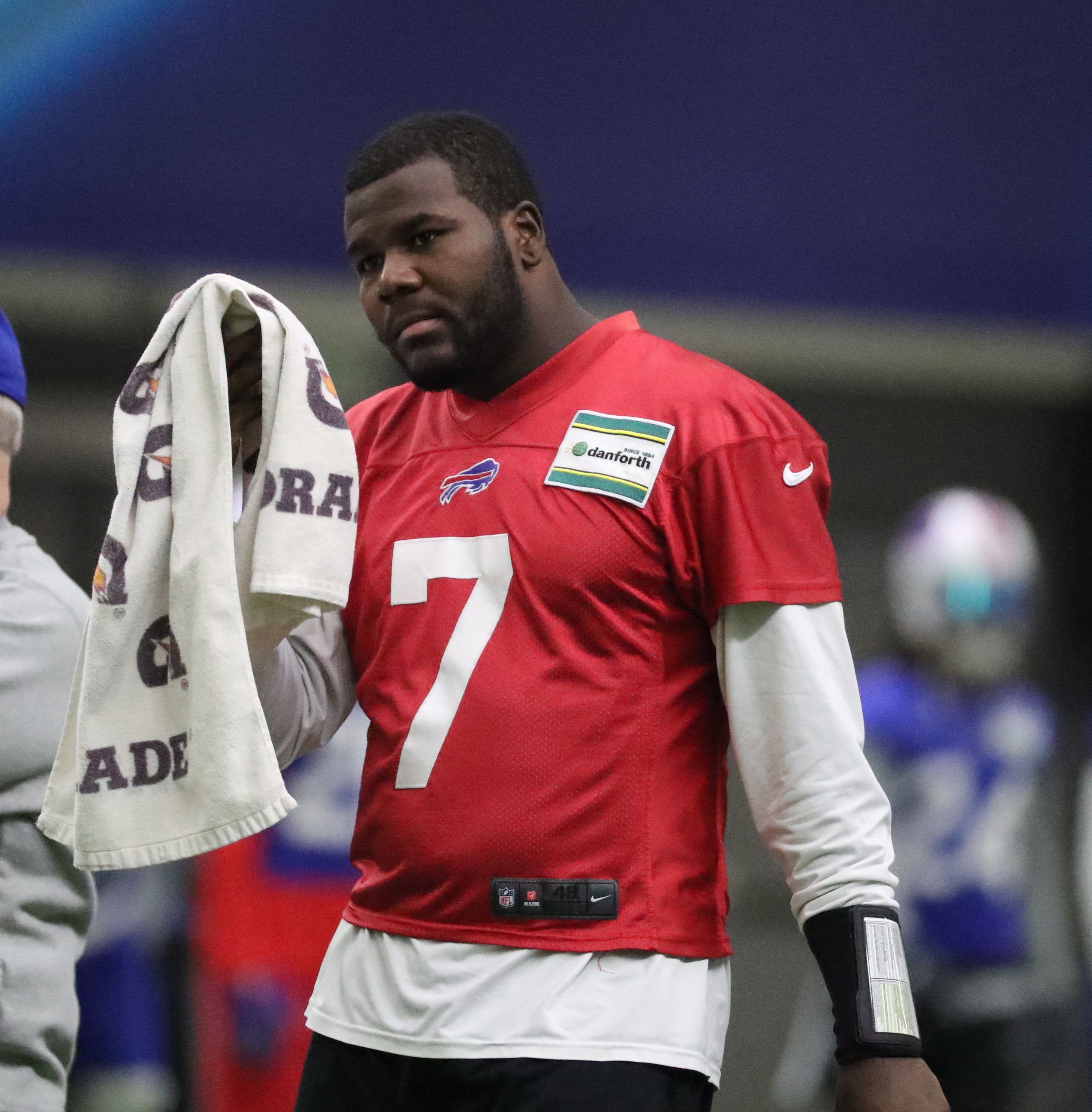 Rookie quarterback Cardale Jones has yet to be active for a game in the regular season. (James P. McCoy/Buffalo News)
