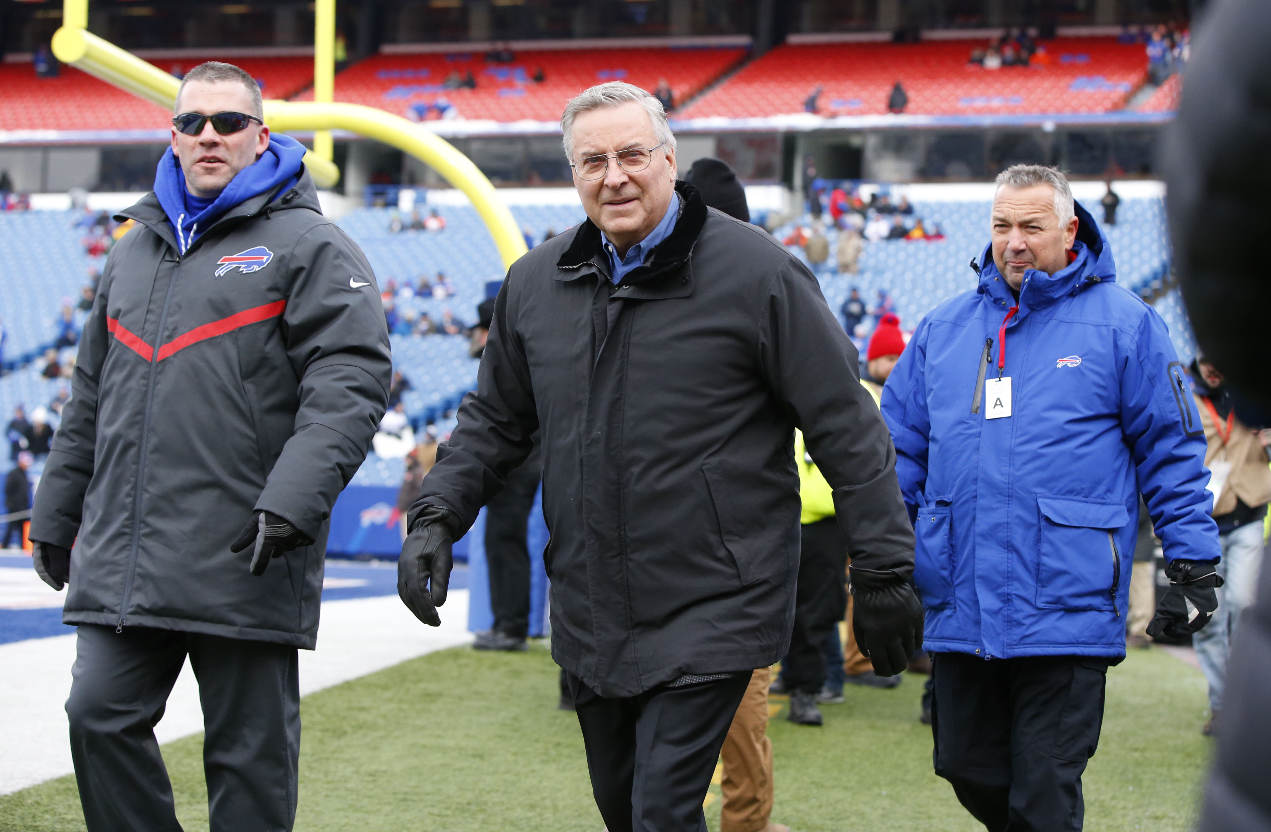 Buffalo Bills owner Terry Pegula needs a lot of things to go right the final two weeks for his team to make the playoffs. (Harry Scull Jr./Buffalo News)