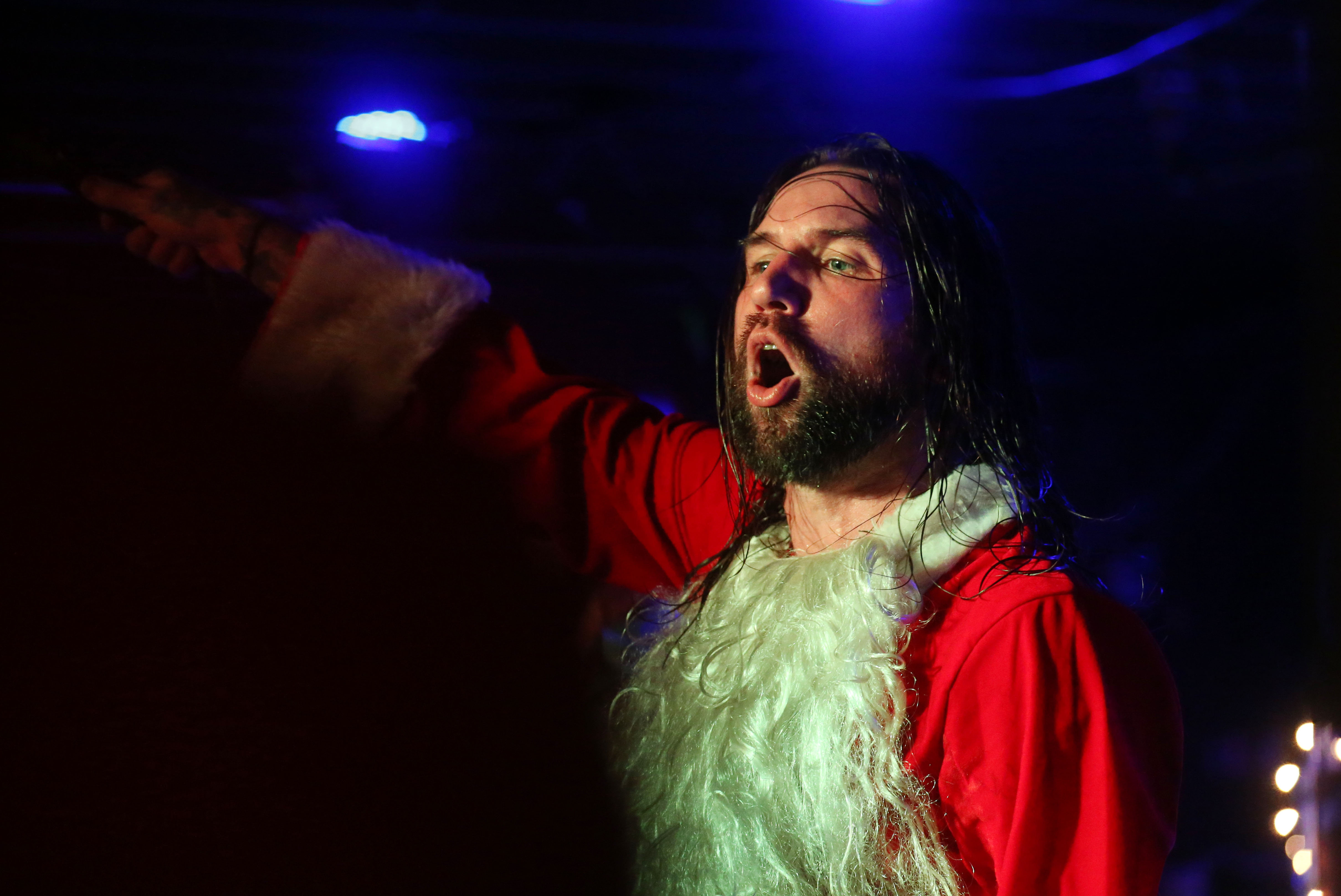 Keith Buckley and Every Time I Die return home again for their annual Christmas show. (Sharon Cantillon/Buffalo News file photo)