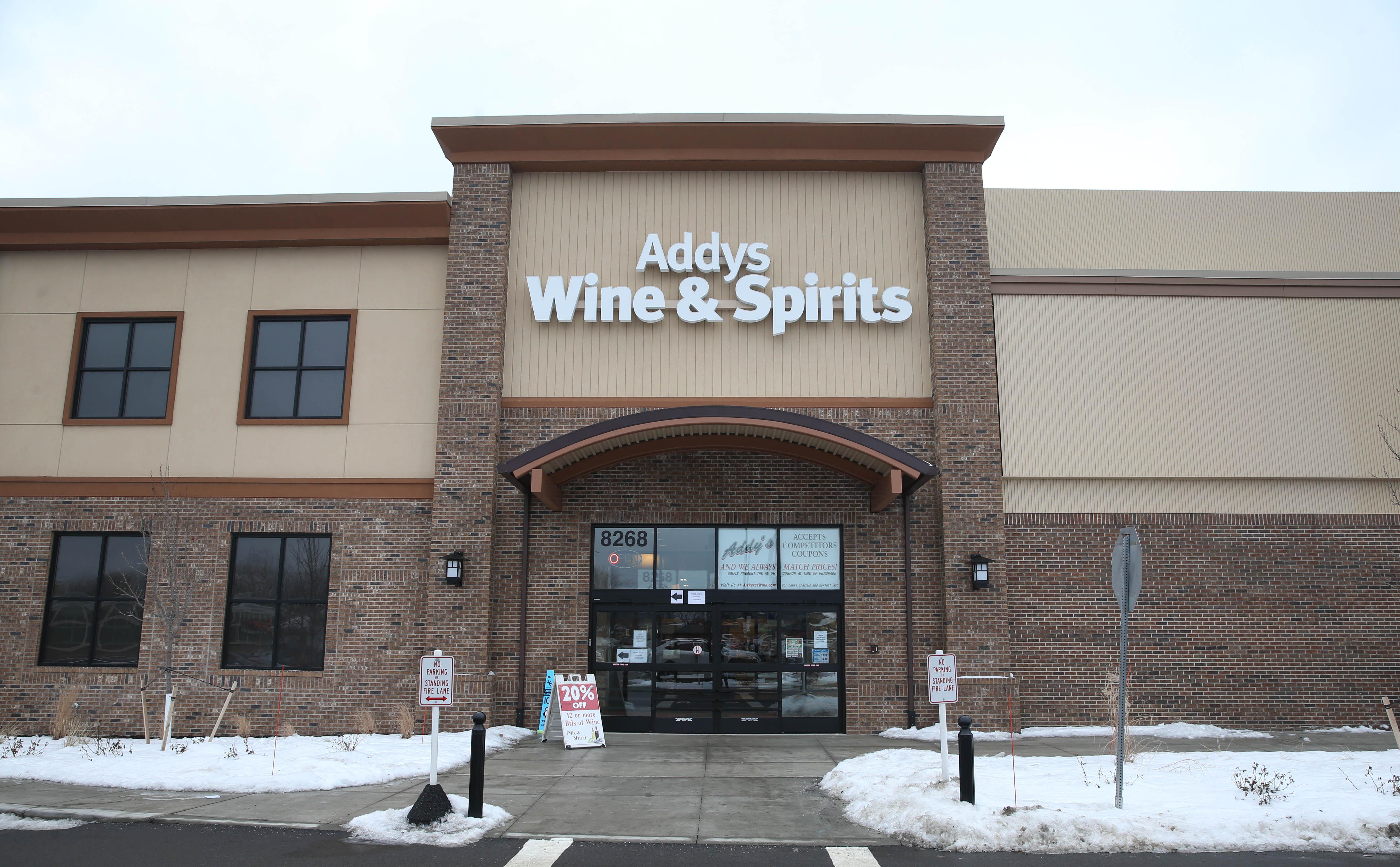 Addy's Wine & Spirits in Amherst. (Sharon Cantillon/Buffalo News)