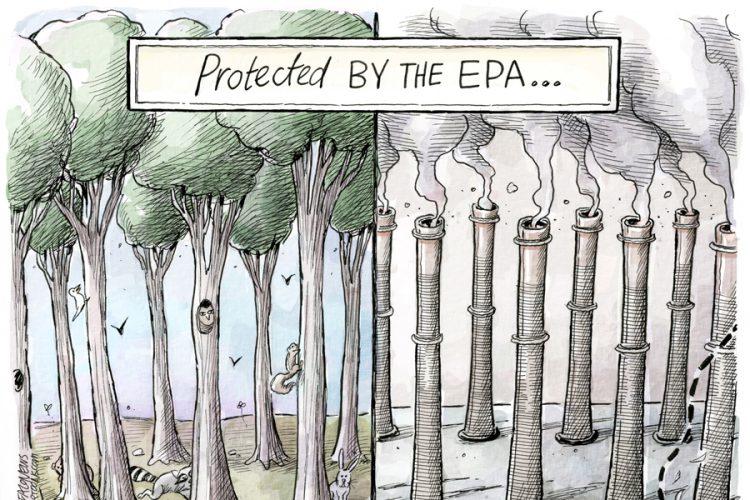 Adam Zyglis: EPA chief Scott Pruitt