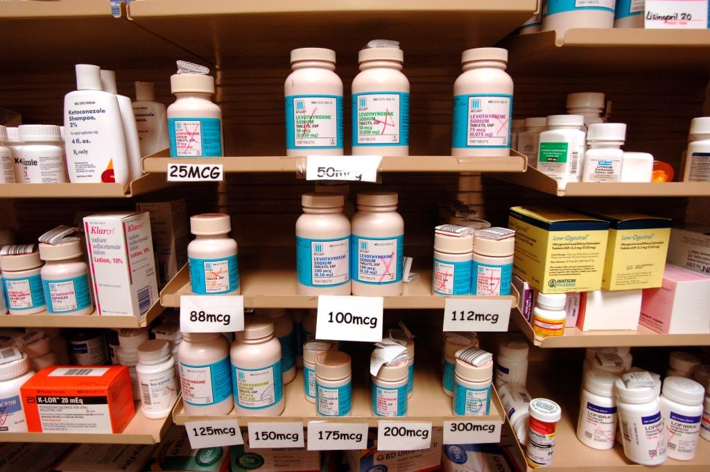 Generic drugs fill  the shelves at the Wegmans Pharmacy on Sheriden Drive in Williamsville in 2006. (Harry Scull Jr./News file photo)