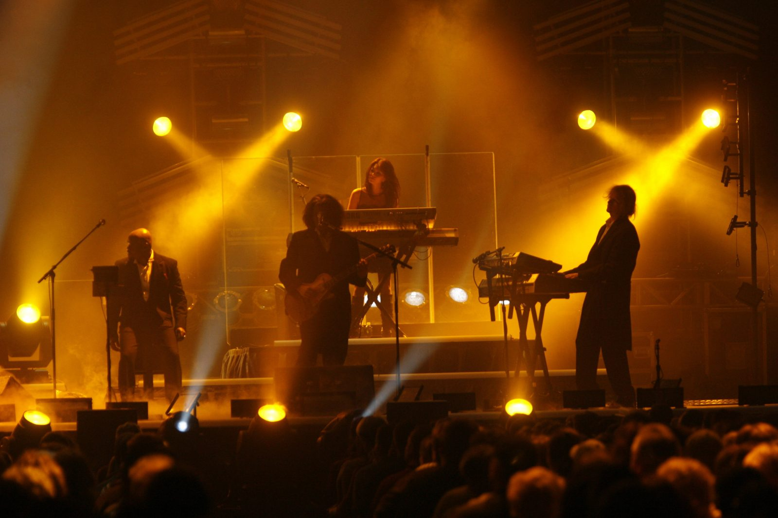 The Trans-Siberian Orchestra during a previous performance in Buffalo. (Robert Kirkham/News file photo)