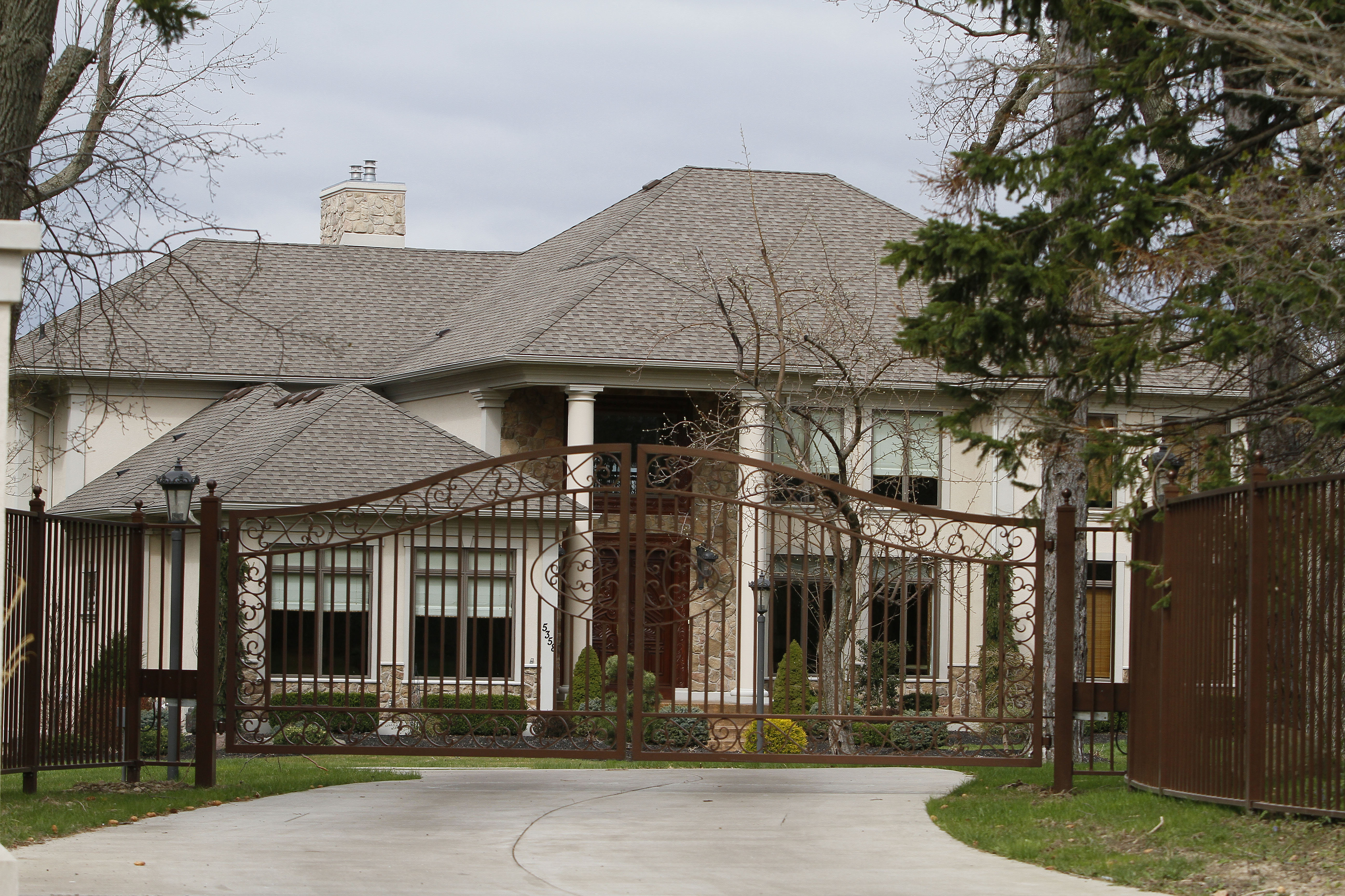 The home owned by Chicago Blackhawks forward Patrick Kane on Old Lake Shore Road in Hamburg. (Mark Mulville/News file photo)