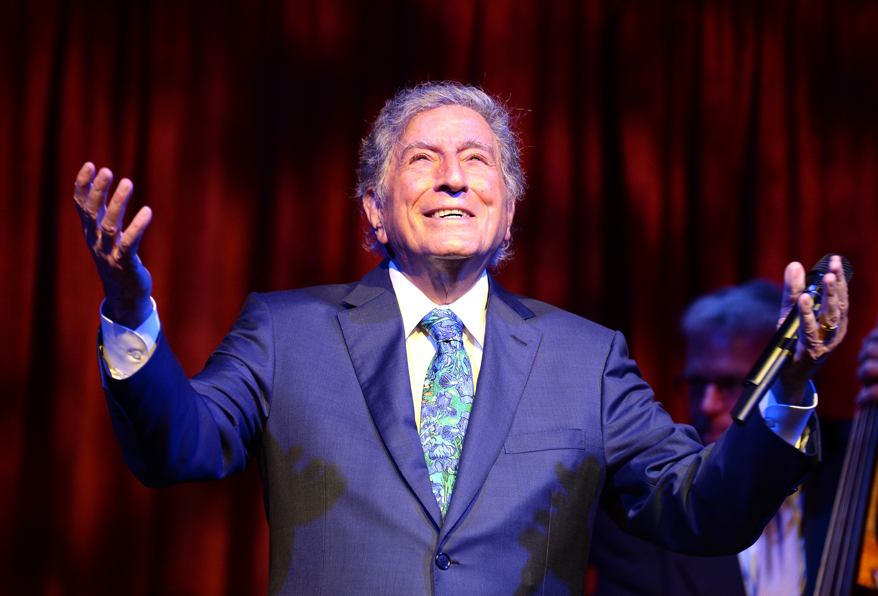 With practically the entire 20th century's songbook of standards in his pocket, Tony Bennett's repertoire is envious. (Dave Kotinsky/Getty Images file photo)