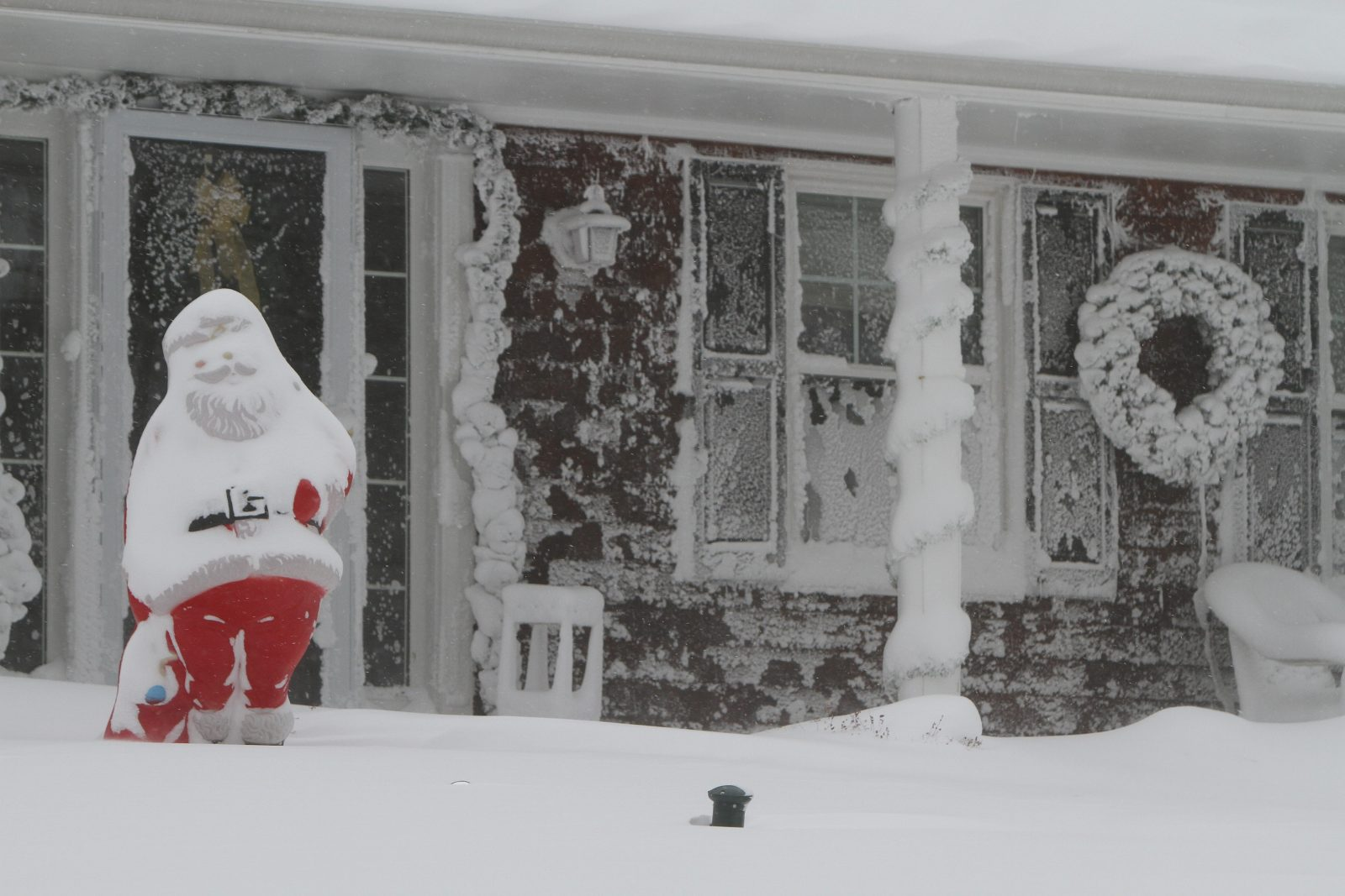 Dreaming of a Christmas that looks like this? You might get your wish. (Mark Mulville/Buffalo News)