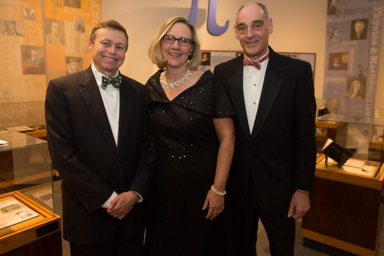 Smiles at Buffalo & Erie County Central Library black-tie gala