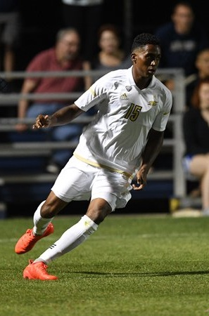International Prep grad Ezana Kahsay just completed his third season with Akron. (Akron men's soccer)